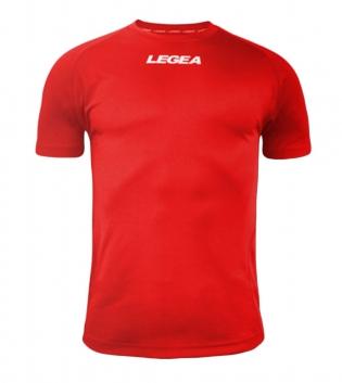 Maglia Uomo Sport Calcio LEGEA Lipsia Abbigliamento Sportivo Calcistico Bambino Uomo GIOSAL-Rosso-3XS