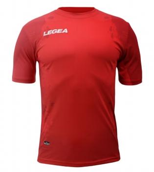 Maglia Calcio Sport LEGEA Stoccarda Abbigliamento Sportivo Uomo Bambino GIOSAL-Rosso-2XS