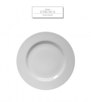 Piatto Bianco Linea Etrusca Bianco Tondo DM 31 Porcellana Accessori da Tavola GIOSAL