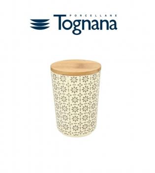 Barattolo 710cc Ecofiber Djerba Tognana Porcellana Bambù Decoro GIOSAL