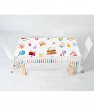Tovaglia Digitale Birthday I Love Sleeping Cucina Tavola X6 X12 Varie Dimensioni Candeline CompleannoGIOSAL
