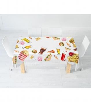 Tovaglia Digitale Street Food I Love Sleeping Cucina Tavola X6 X12 Varie Dimensioni Cibo GIOSAL