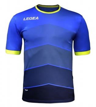 Maglia LEGEA Calcio Sport Assen Abbigliamento Sportivo Calcistico GIOSAL-Turchese-Blu-M
