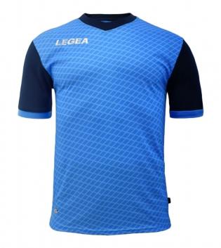 Maglia Calcio Sport LEGEA Narbona Abbigliamento Calcistico Sportivo GIOSAL-Turchese-Blu-S