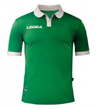 Maglia Uomo LEGEA Calcio Abbigliamento Sportivo Vintage Gold Uomo Bambino GIOSAL-Verde-Bianco-3XS