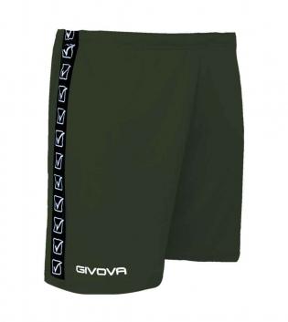 Pantalone Uomo Bermuda GIVOVA Collezione Banda Poly Band Uomo Donna Bambino GIOSAL-Verde Militare-2XS