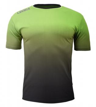 Maglia Calcio Sport LEGEA Nizza Abbigliamento Sportivo Uomo GIOSAL-Verde-Nero-S