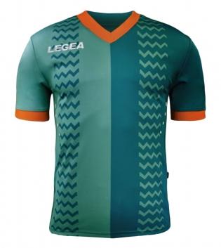 Maglia Calcio Sport LEGEA Uomo Cracovia Gold Uomo Bambino GIOSAL-VerdeSmeraldo-ArancioFluo-S