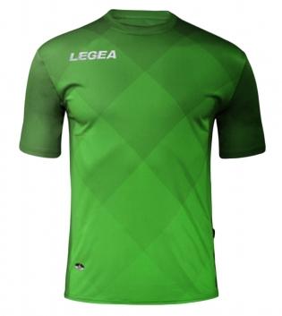 Maglia Uomo Calcio Sport LEGEA Breda Uomo Bambino Abbigliamento Calcistico Sportivo GIOSAL-Verde-VerdeFluo-XL