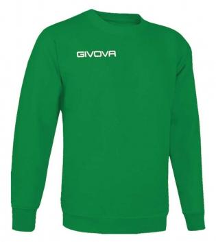 New Maglia Girocollo Givova One Uomo Donna Bambino Sport Relax Unisex GIOSAL-Verde-3XS