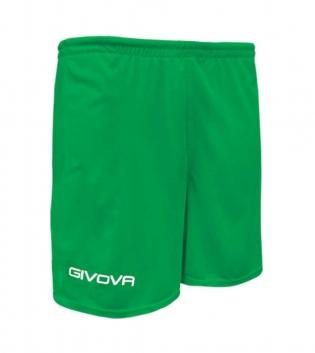 Pantaloncino Sport GIVOVA One Uomo Donna Bambino Sportivo Unisex GIOSAL-Verde-4XS