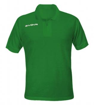 New Polo Summer GIVOVA Uomo Donna Bambino Unisex Maglia Sport Comfort Relax Vari Colori GIOSAL-Verde-S