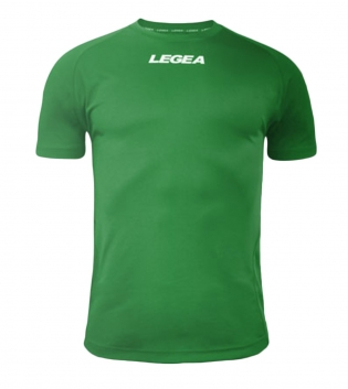 Maglia Uomo Sport Calcio LEGEA Lipsia Abbigliamento Sportivo Calcistico Bambino Uomo GIOSAL-Verde-2XS