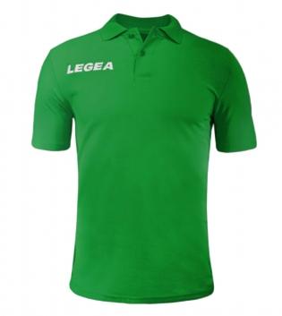 Polo Uomo LEGEA Sud Gold Maniche Corte Uomo Bambino Abbigliamento Sportivo GIOSAL-Verde-5XS
