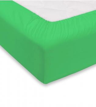 Lenzuolo Sotto Maestri Cotonieri Con Angoli Cotone Singolo 90x200cm Vari Colori GIOSAL-Verde