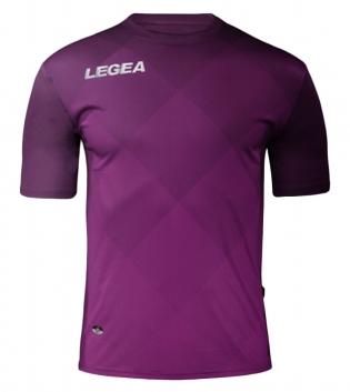 Maglia Uomo Calcio Sport LEGEA Breda Uomo Bambino Abbigliamento Calcistico Sportivo GIOSAL-Viola-FuxiaFluo-M