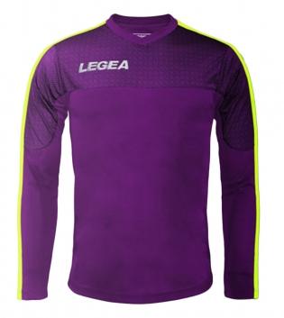 Maglia Uomo Calcio Sport Atene Legea Abbigliamento Sportivo Uomo Bambino GIOSAL-Viola-GialloFluo-3XS