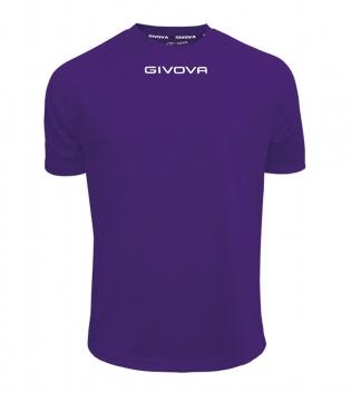 Maglia Calcio Sport GIVOVA One T-Shirt Uomo Donna Bambino Maglietta Abbigliamento Sportivo GIOSAL-Viola-4XS
