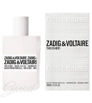 Profumo Donna Zadig & Voltaire This Is Her! Eau de Parfum 30ml 50ml 100ml GIOSAL