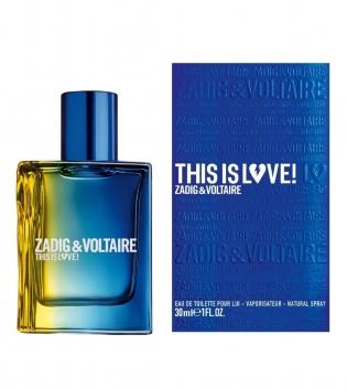 Profumo Uomo Zadig & Voltaire This is Love Pour Lui Eau de Toilette GIOSAL