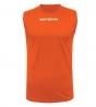 New Shirt Smanicato Givova One Uomo Stampa Tinta Unita Sport GIOSAL