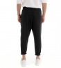 Completo Uomo Casual Outfit Camicia Pantalone Lino Tinta Unita Rosso Nero Paul Barrell GIOSAL
