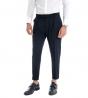 Completo Uomo Giacca Doppio Petto Pantalone Classico Outfit Casual Tinta Unita Blu GIOSAL