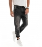 Outfit Uomo Completo Camicia Floreale Jeans Grigio Tasca America GIOSAL