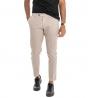 Outfit Uomo Completo Camicia Multicolore Completo Pantalone Classico Beige GIOSAL