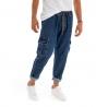 Outfit Uomo Completo Felpa Viola Jeans Cargo Casual Cappuccio Maniche Lunghe GIOSAL