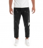 Outfit Uomo Completo Felpa Jeans Stampa Nero Casual GIOSAL