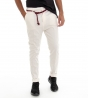 Pantalone Tasca America Regolare Bianco Cavallo Basso Akirò Tinta Unita Cotone Casual GIOSAL