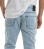 Jeans Uomo Pantalone Rotture Cinque Tasche Cavallo Basso Denim Casual MOD GIOSAL