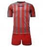 Kit Uomo LEGEA Calcio Salonicco Righe Uomo Bambino Calcetto GIOSAL
