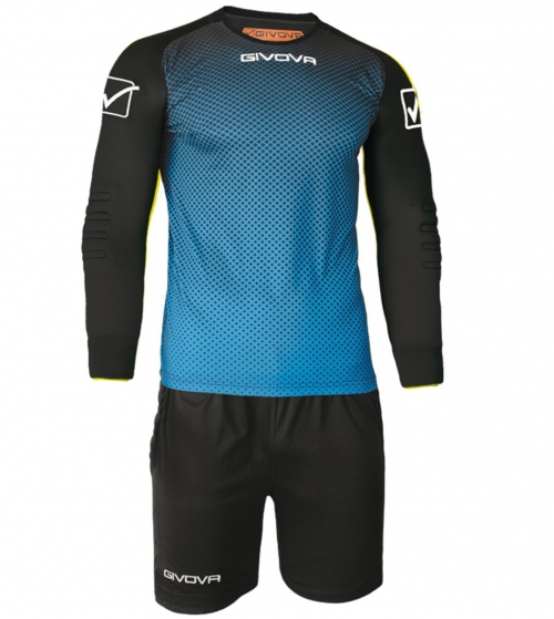 Kit Calcio Sport Manchester Portiere GIVOVA Sportivo Uomo Maniche Lunghe GIOSAL