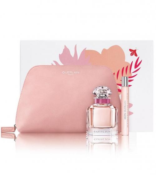 Coffret Donna Mon Guerlain Bloom of Rose Eau de Toilette 50ml + EDT 10ml + Pochette GIOSAL