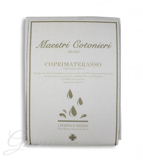 Coprimaterasso Maestri Cotonieri Protector Impermeabile Antiacaro Singolo 85x195cm GIOSAL