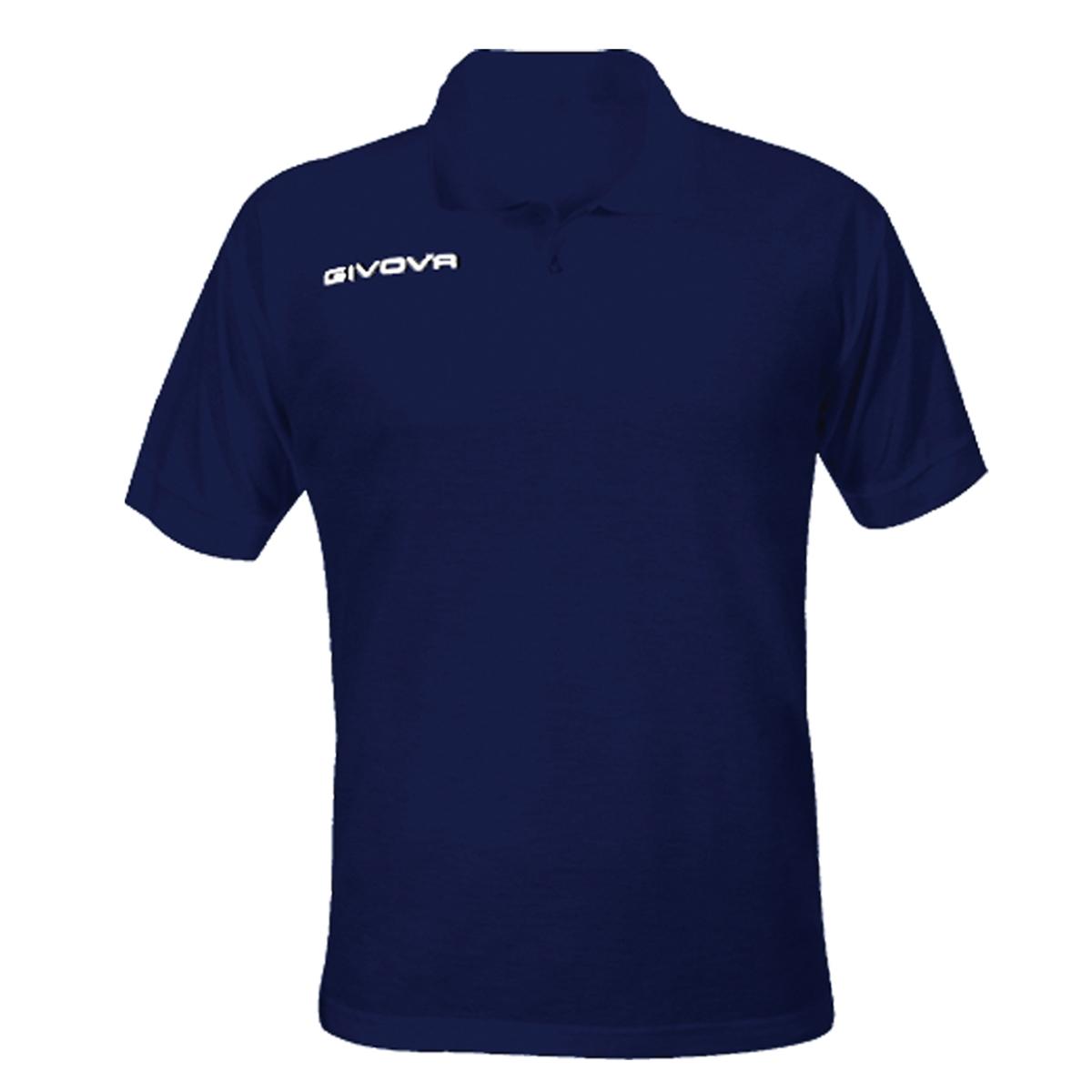 Polo-Summer-GIVOVA-Uomo-Maglia-Manica-Corta-Free-Time-Sport-Comfort-Relax-Var