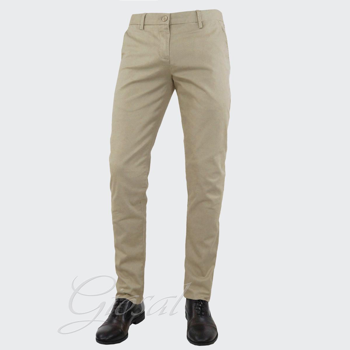 Pantalone-Uomo-Tasca-America-Slim-Cotone-Chino-Elastico-Colori-Vari-GIOSAL miniatura 8