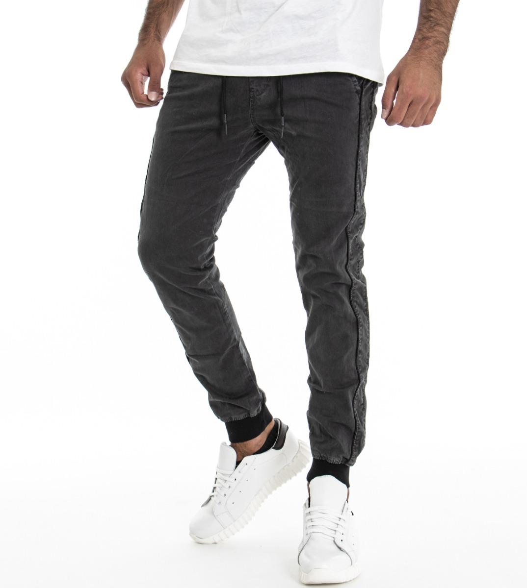 Gris Noir Panta Pantalons costume Élastique Pour Latérale Foncé Riga Hommes Xzwgx7tqw