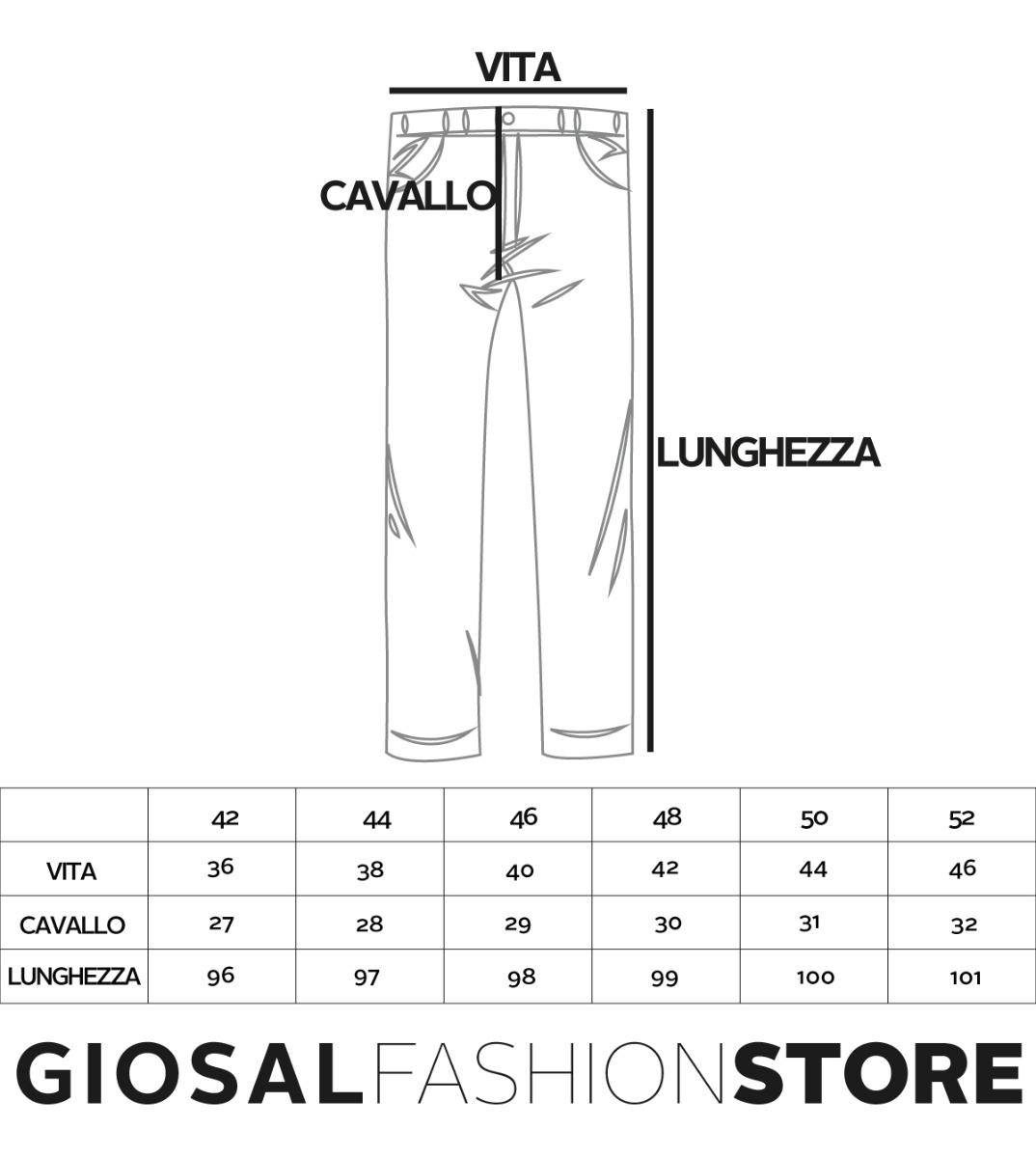 Pantalone-Uomo-Cargo-Tasca-America-Kaki-Tinta-Unita-Cotone-Casual-GIOSAL miniatura 8