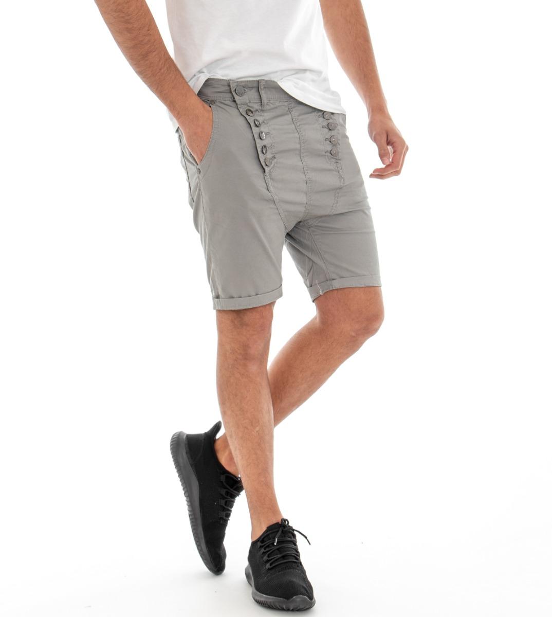 Responsabile Pantalone Corto Uomo Pantaloncini Bermuda Grigio Tasca America Cavallo Basso ... Supplemento L'Energia Vitale E Il Nutrimento Yin