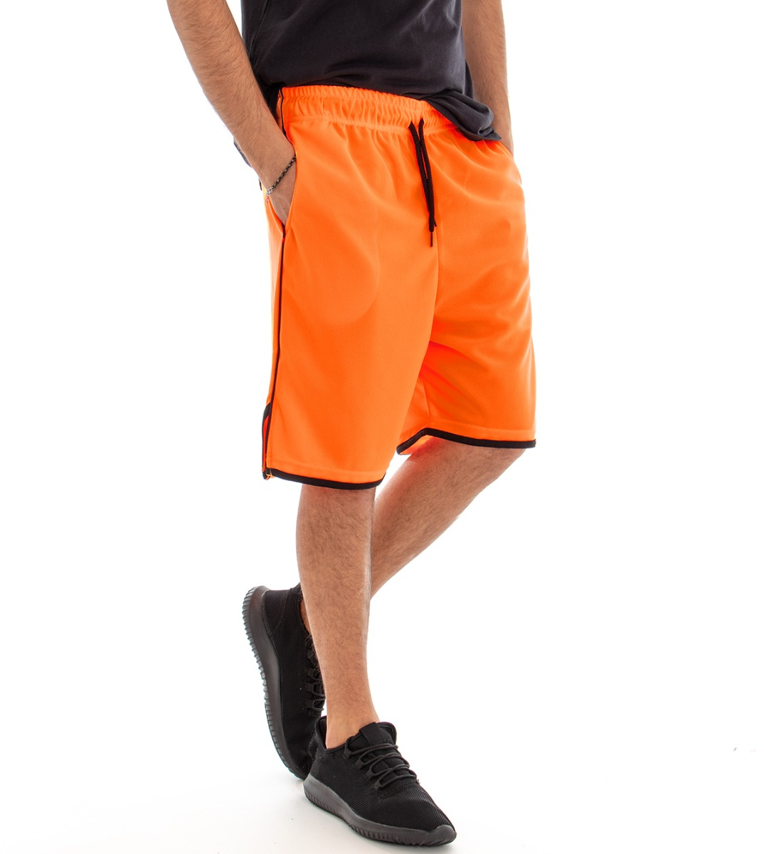 pantaloni adidas fluo