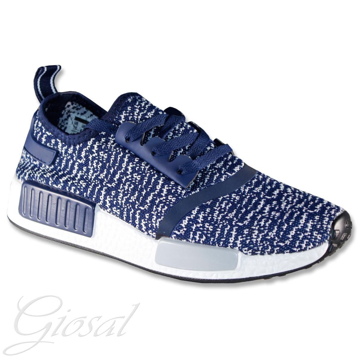 Dettagli su Scarpe Uomo Casual Sneakers Sportive Corsa Calzature Blu Lacci  GIOSAL 950ccdb8d77