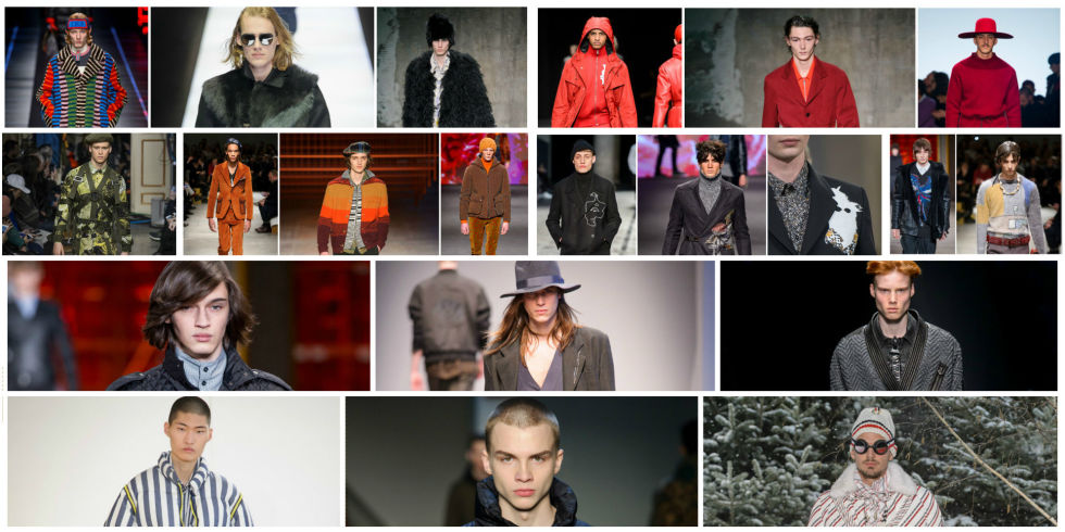 Ultime tendenze di moda uomo fashion week 2017/2018